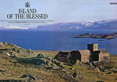 COUNTRY LIVING (Great Britain): Iona, the Holy Scottish Island (cultural-historical feature)