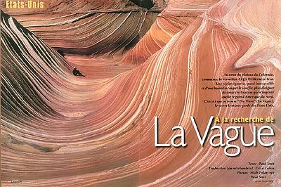 VIVRE L'AVENTURE (France): In Search of the Wave (trekking feature)