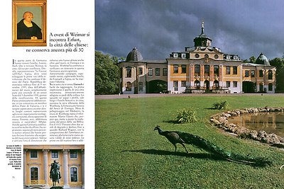WEEKEND & VIAGGI (Italy): Land of Goethe, Luther and Bach (cultural-historical feature)