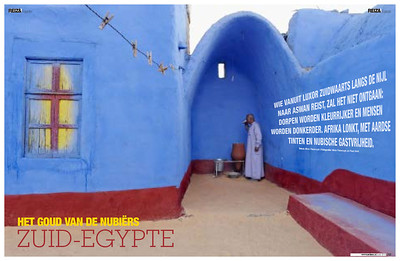 REIZEN MAGAZINE (Holland): The Egypt of the Nubians (cultural-historical feature)
