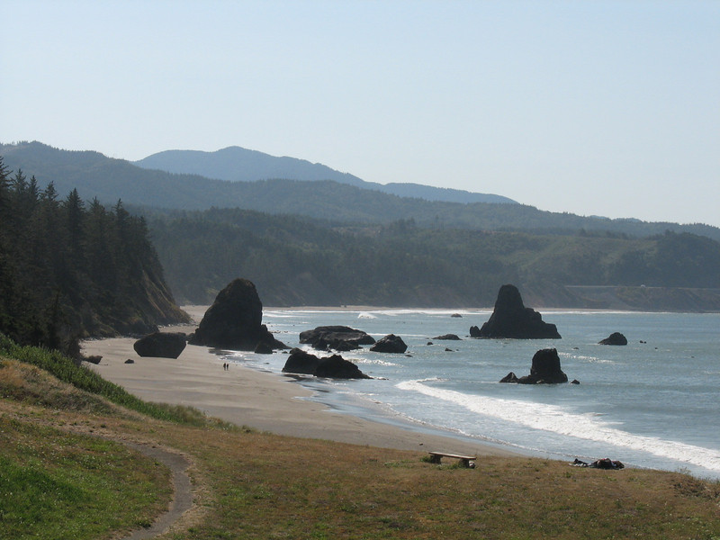 View of Southern Oregon Coastline