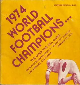 1974 World Football Champions book