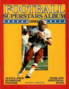 Mark Rypien 1992 Football Superstars Album
