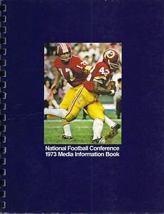 1973 NFL Media Information Book