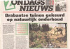 tuinwedstrijd2001-1 (news paper article: Garden competition, page 1)