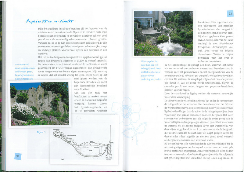 page 92-93, of the 25 years N.R.V. anniversary book: Manual for the Rockgarden N.R.V. (NL: Handboek voor de Rotstuin 2010)