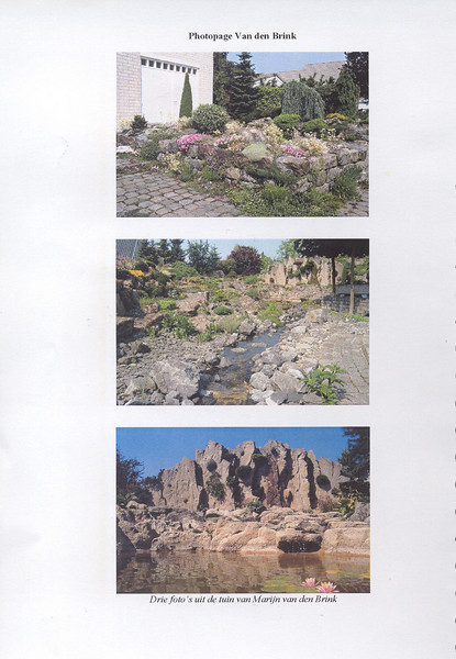 Dutch International Rock Garden Conference of Alpine Plants 17 April 2005 (pag.1 Proceedings in English language)