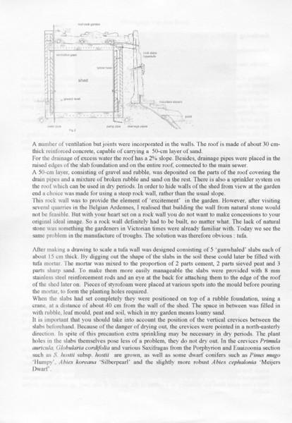 Dutch International Rock Garden Conference of Alpine Plants 17 April 2005 (pag.3 Proceedings in English language)