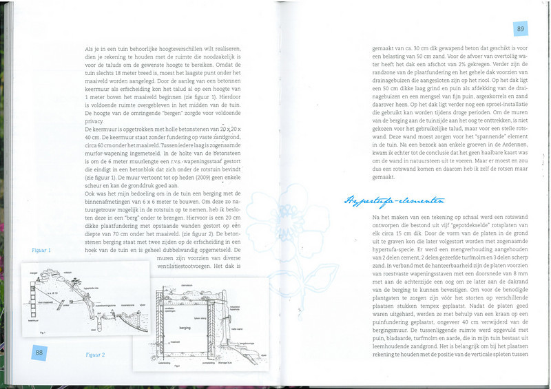 page 88-89, of the 25 years N.R.V. anniversary book: Manual for the Rockgarden N.R.V. (NL: Handboek voor de Rotstuin 2010)