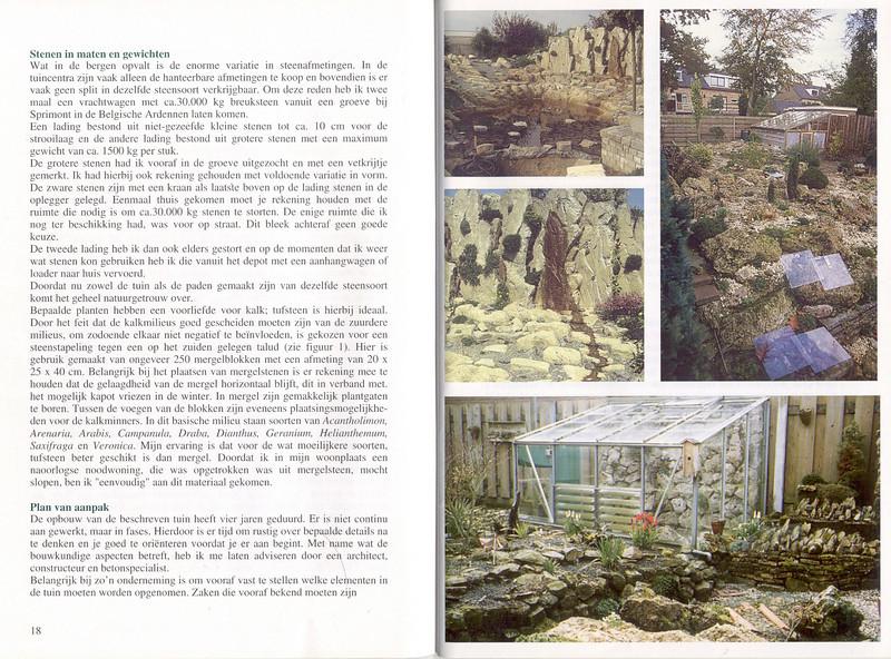 Het aanleggen van een rotstuin, hobby of een levenswerk
