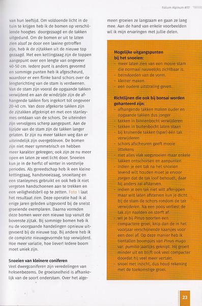 Folium Alpinum 117, pag. 23