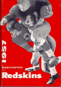 1957 Redskins Press Guide