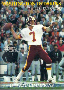 1984 Redskins Press Guide