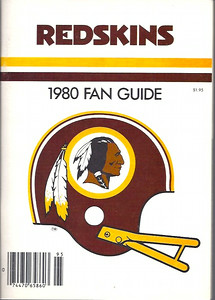 1980 Redskins Press Guide