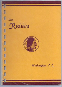 1946 Redskins Press Guide