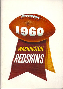 1960 Redskins Press Guide