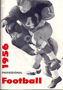 1956 Redskins Press Guide