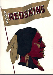 1951 Redskins Press Guide