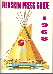 1968 Redskins Press Guide