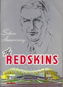 1961 Redskins Press Guide