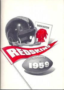 1959 Redskins Press Guide