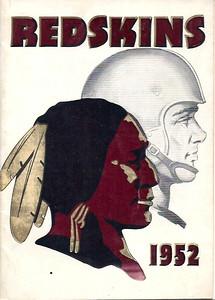 1952 Redskins Press Guide