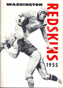 1955 Redskins Press Guide