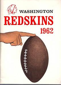 1962 Redskins Press Guide