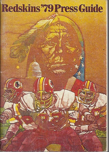 1979 Redskins Press Guide