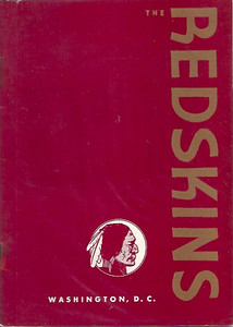1947 Redskins Press Guide
