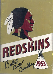 1953 Redskins Press Guide