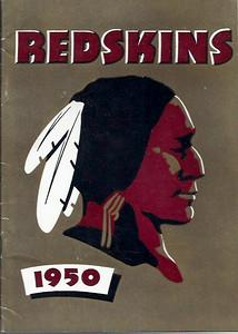 1950 Redskins Press Guide