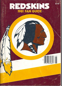 1981 Redskins Press Guide