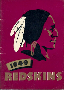 1949 Redskins Press Guide
