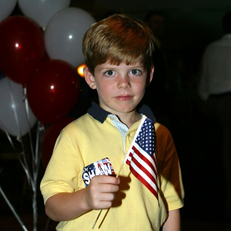 E Clay Shaw Election Night Nov 2002 127sq