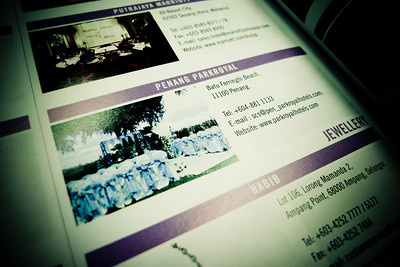 Bridal Guide Malaysia Vol 12 - Advertorial by Parkroyal Penang, Four Seasons Wedding Theme