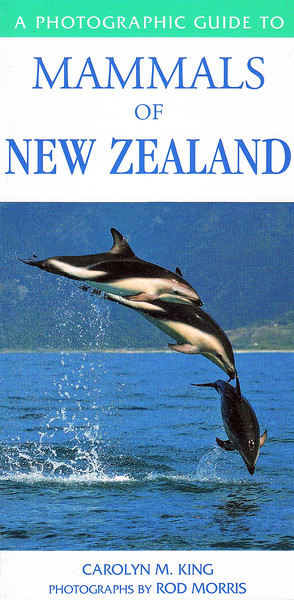 A comprehensive reference guide to 66 species of New Zealand mammals, covers  native bats, seals, dolphins and whales as well as the introduced game species.   RRP NZ $29.95  ISBN 978-1-86966-202-8
