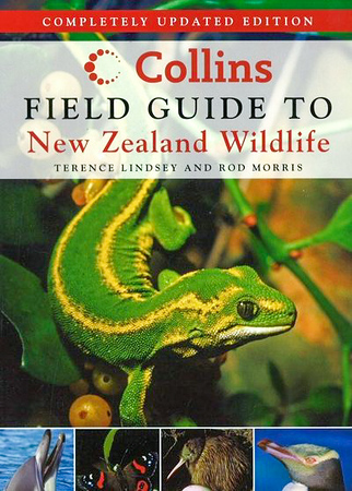 This field guide has become a classic in NZ. Popular with both national, and international travellers keen to identify our birds, mammals, amphibians, reptiles, freshwater fish and invertebrates.  RRP NZ $49.95  ISBN 978-1-86950-881-4
