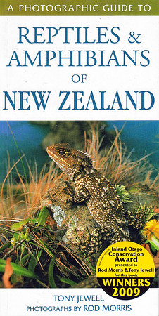 A comprehensive reference guide to 110 species of New Zealand reptiles and amphibians, covers both native and introduced species. This book won the Inland Otago Conservation Award in 2009.  RRP NZ $29.95  ISBN 978-1-86966-203-5