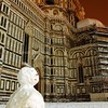 Snow in Florence, Italy
