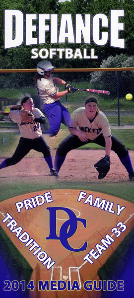 2014-04-22 Defiance Softball Media Guide