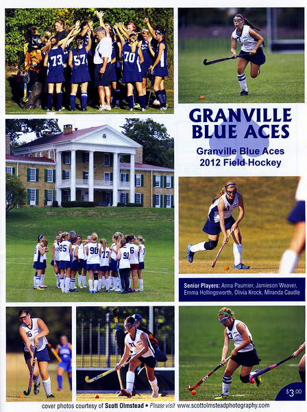 2012-10-01 Granville High School Field Hockey
