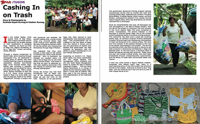 Bravo! Magazine, Dec 2011 issue - A nationwide Philippine magazine Suzheila Reyes-Bunnag and Chatkan Bunnag published photos for ImagesBySheila LLC