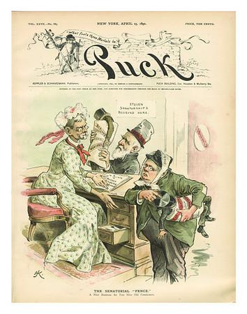 Puck Magazine | April 23, 1890