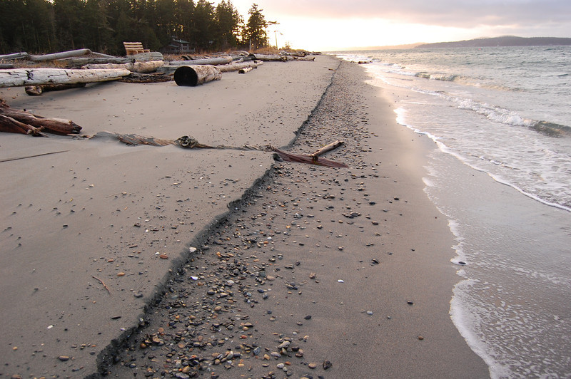 beach on Lopez