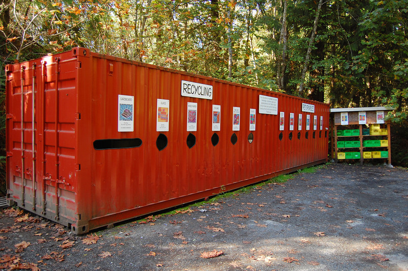Thetis island recycling