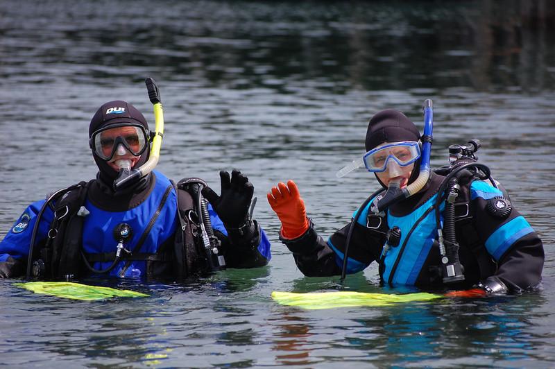 scuba divers near port townsend