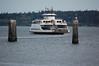 Ferry off Port Townsend