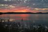 sunset, lopez island