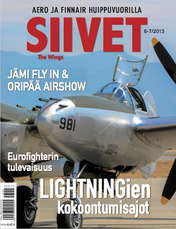 Our coverage of Planes of Fame 2013 got us another cover for Siivet